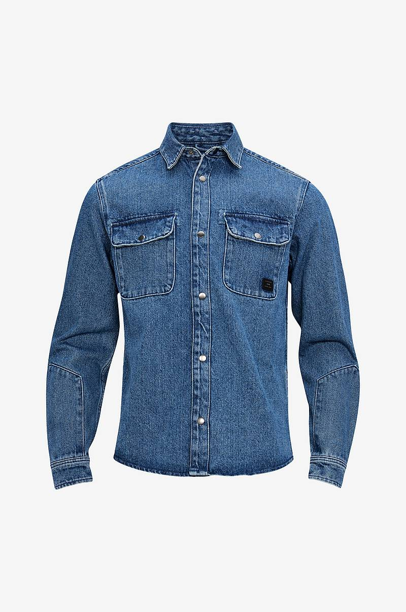 Denimjakke jcoChamp Shirt LS Worker