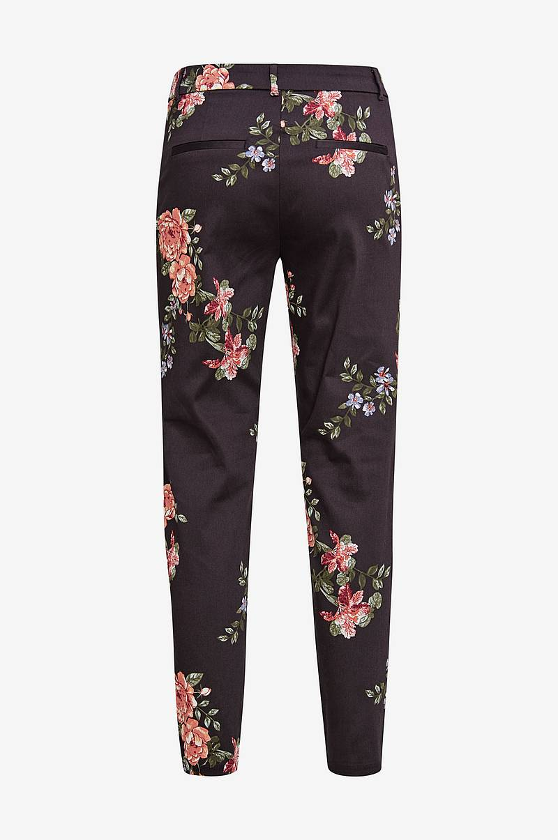 Bukse vmVictoria Mr Antifit Print Ankle Pant