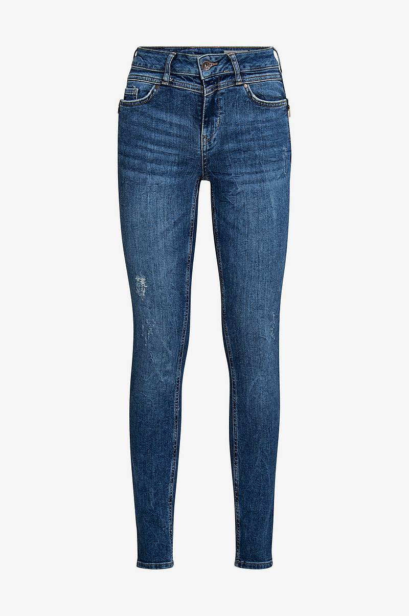 Jeans vmSeven MR Slim Zip