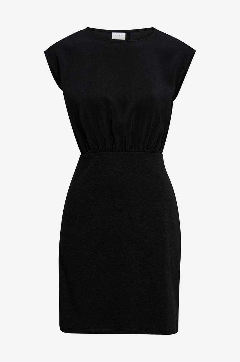 Klänning viLaia S/L Back Detail Dress