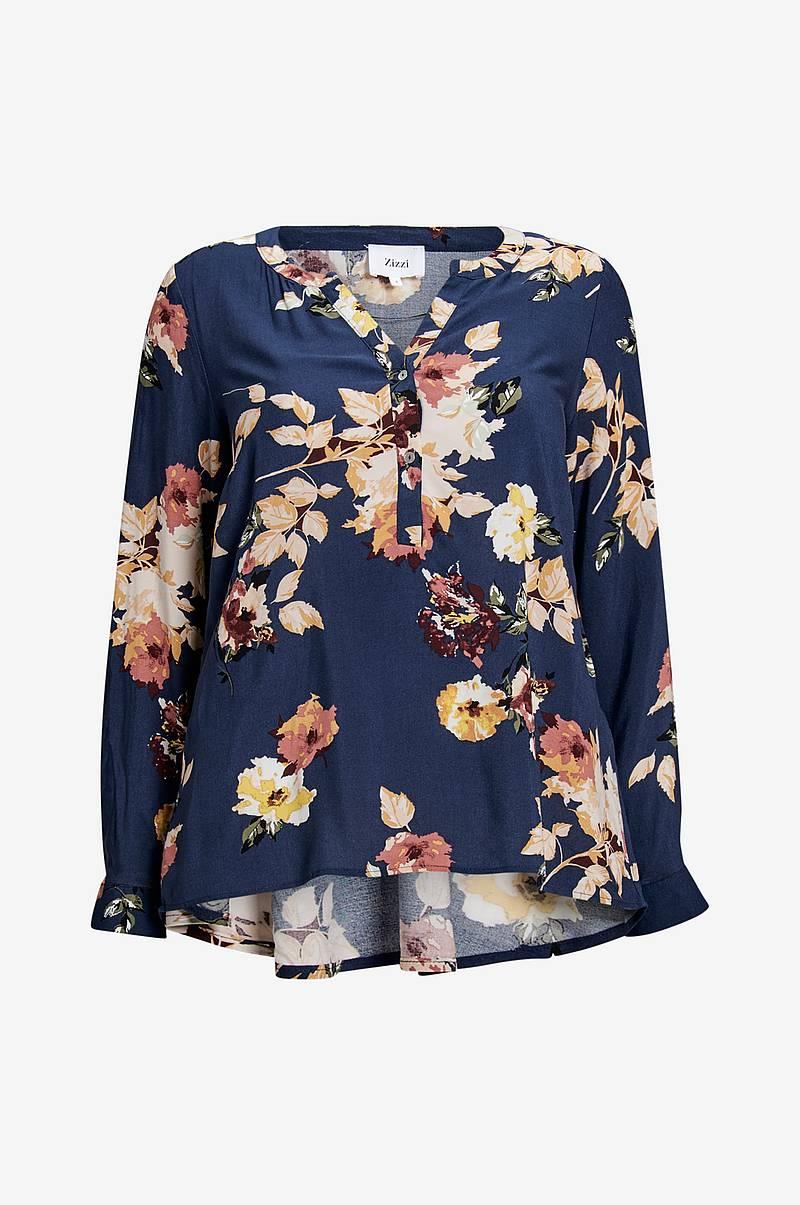 Blus vViga L S V-neck Shirt b95340194a0dc