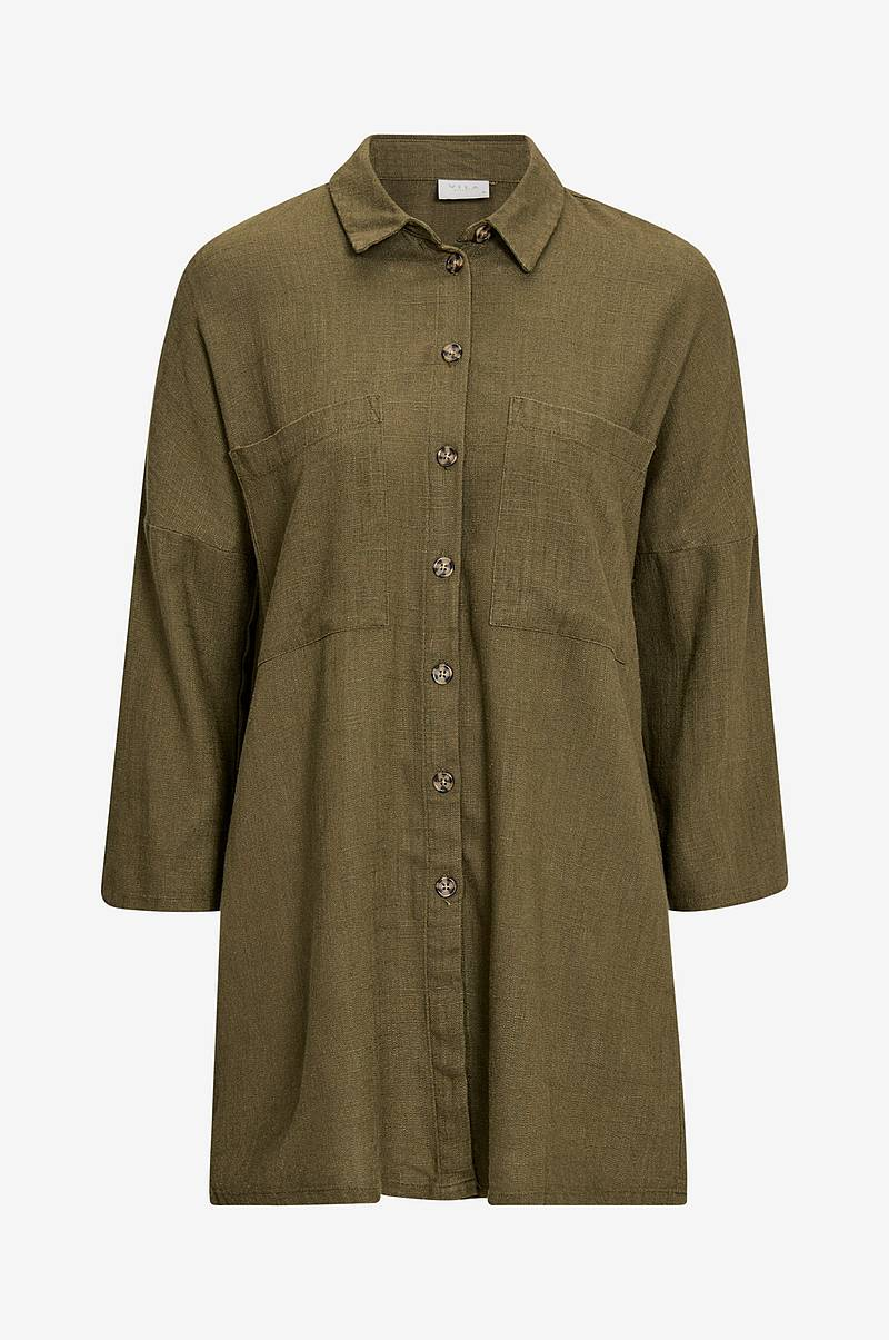 Skjorte viLinnan 3/4 Long Shirt