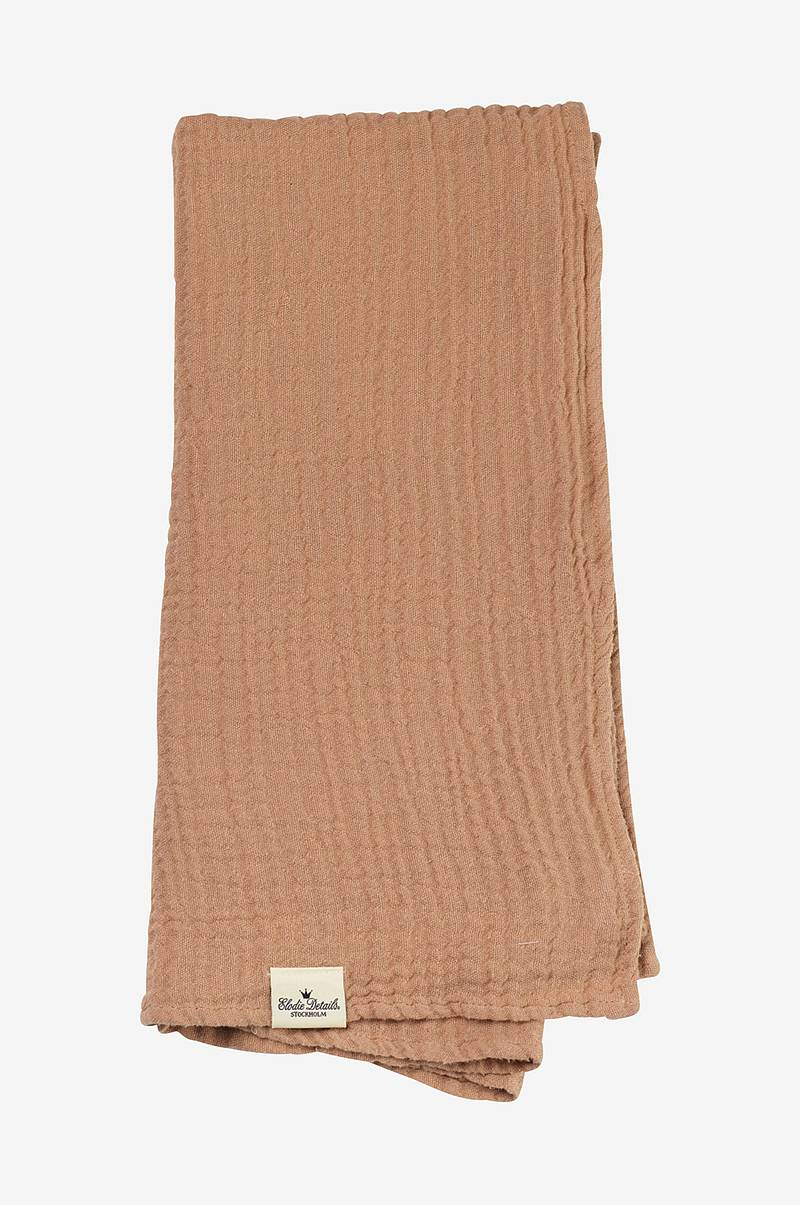 Bamboo Muslin Blanket - Faded Rose