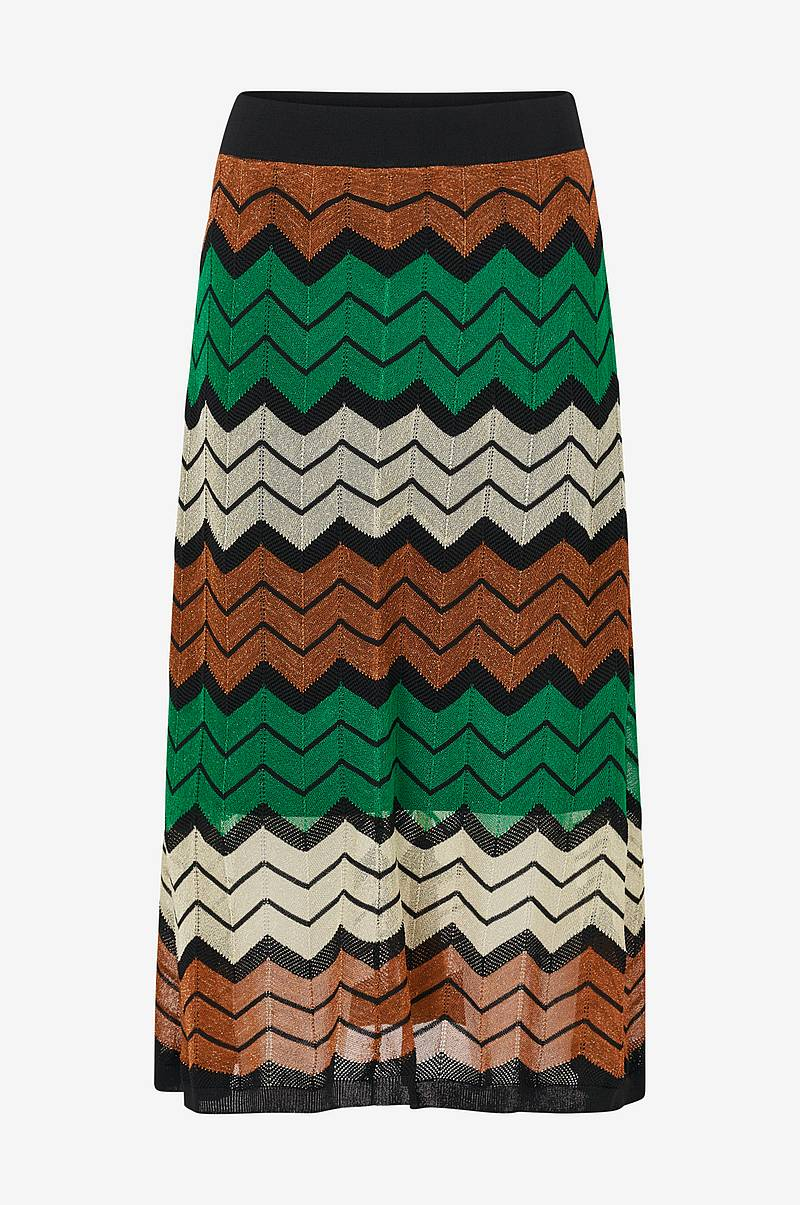 Kjol Wave Knit Skirt