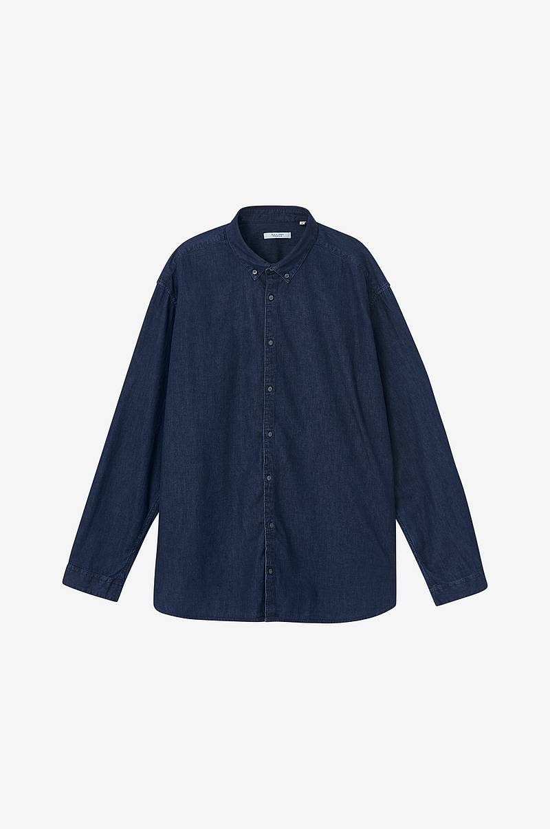 Skjorte jprAmsterdam Denim Shirt L/S PS