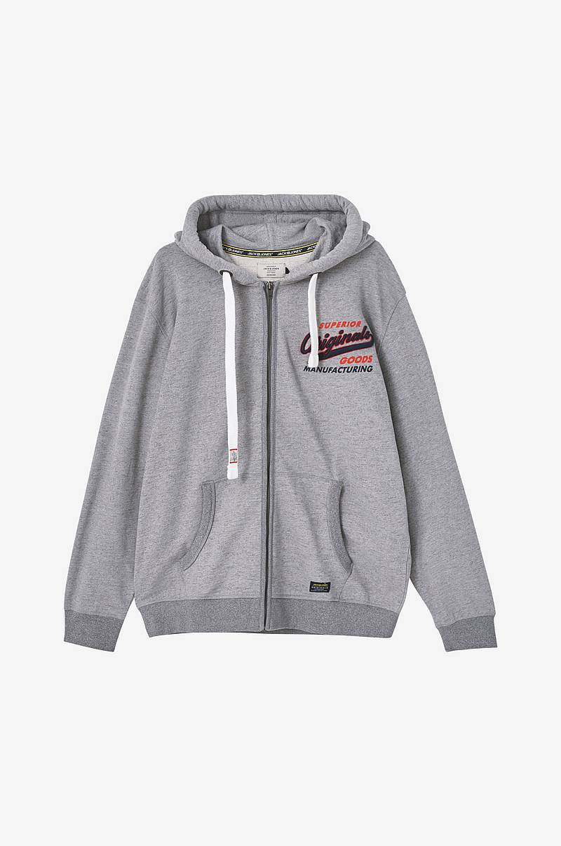 Hættetrøje jorVarcity Sweat Zip Hood PS