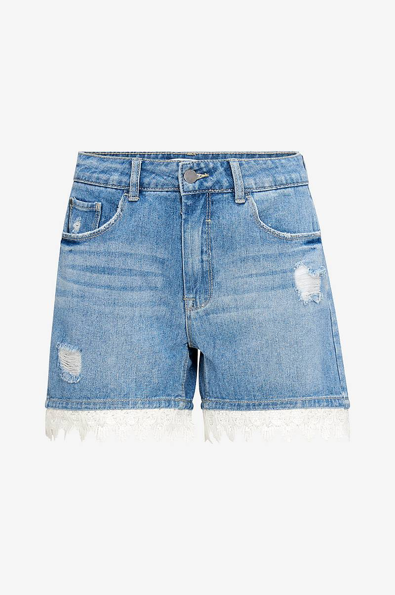 Jeansshorts jdyVera Rw Short With Lace Hem Box
