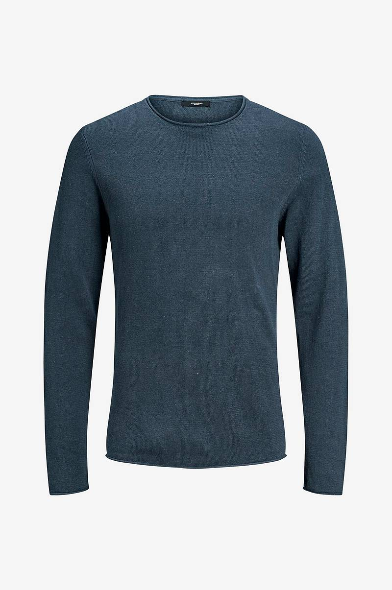 Trøje jprLinen Knit Crew Neck