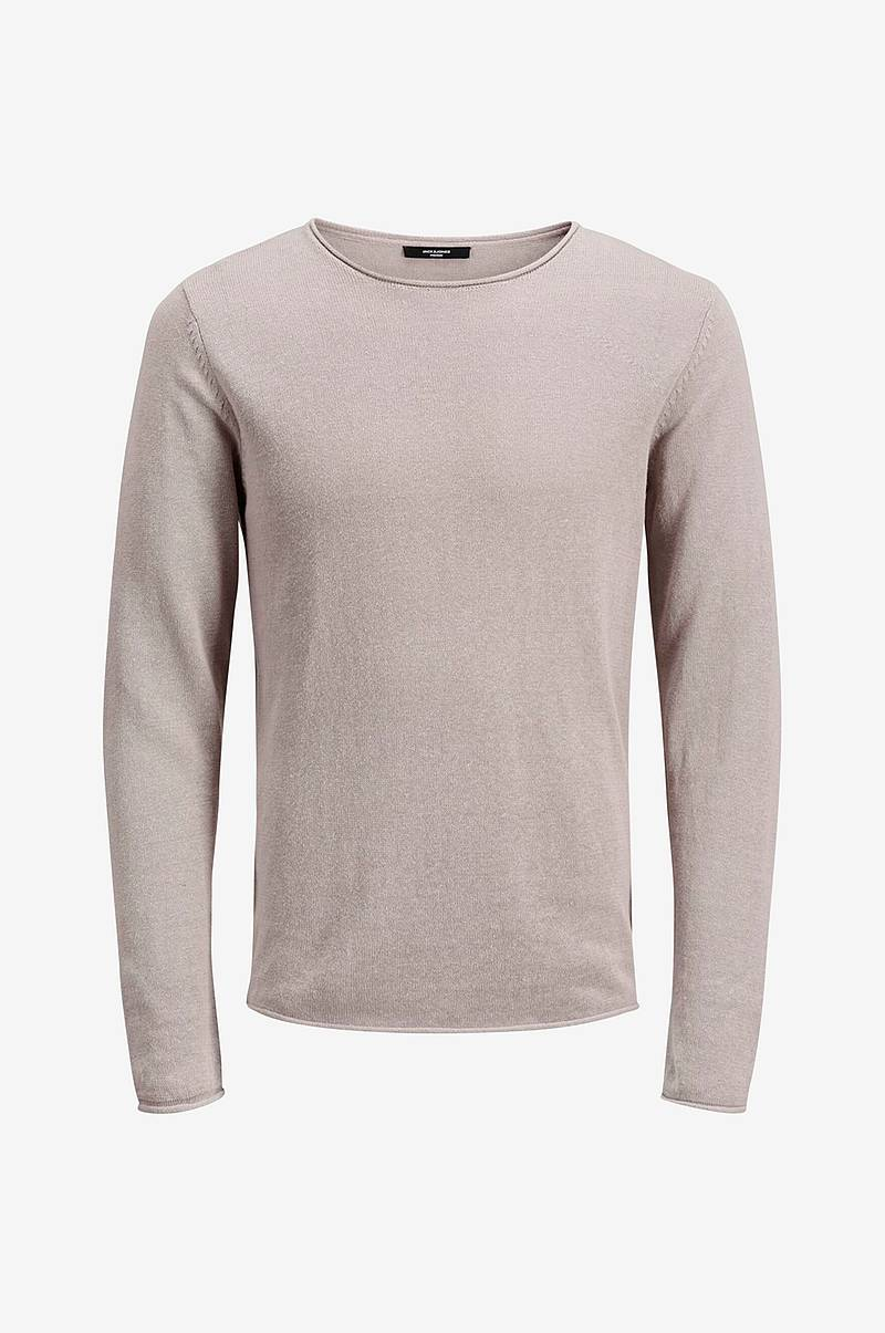 Tröja jprLinen Knit Crew Neck