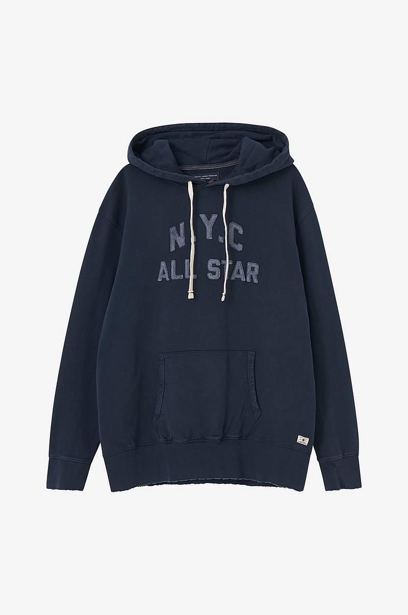 Hættetrøje jprJames Blu. Sweat Hood PS