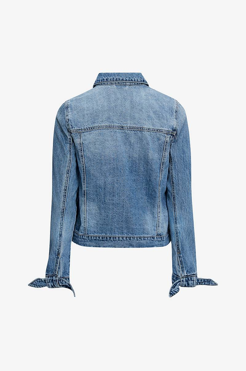 Jeansjacka vmMikky Ls Loose Bow Cuff Denim Jacket