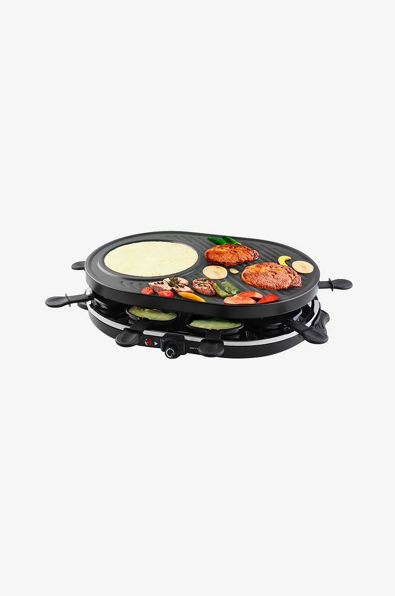 Raclette grill 8 stk Panner