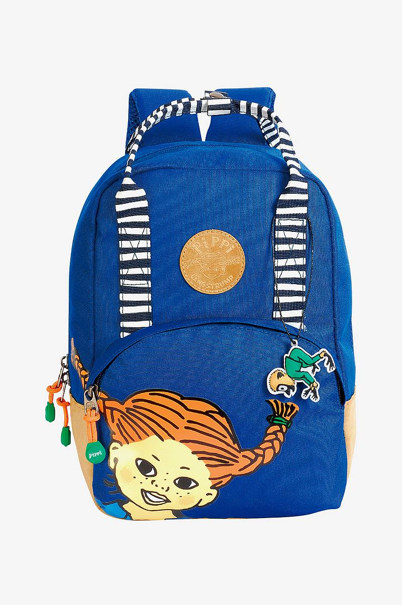 Retro backpack small navy