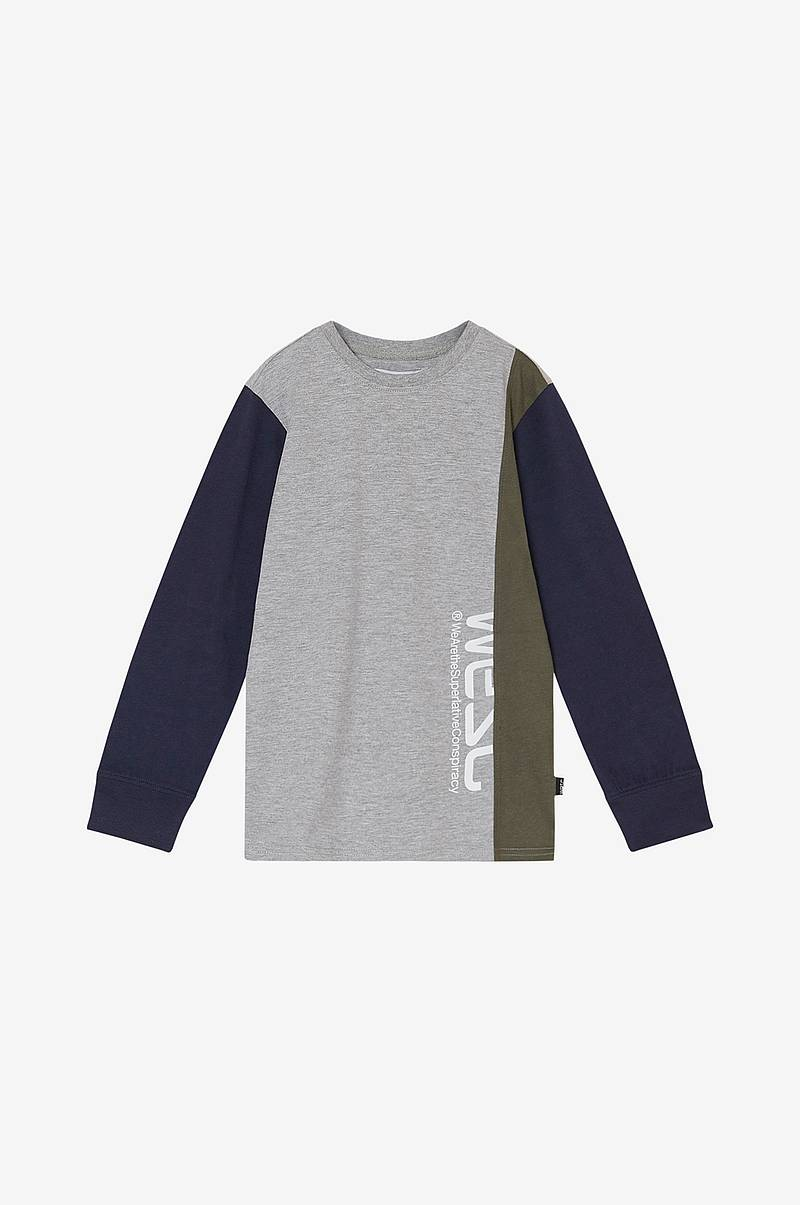 T-shirt Block Long Tee