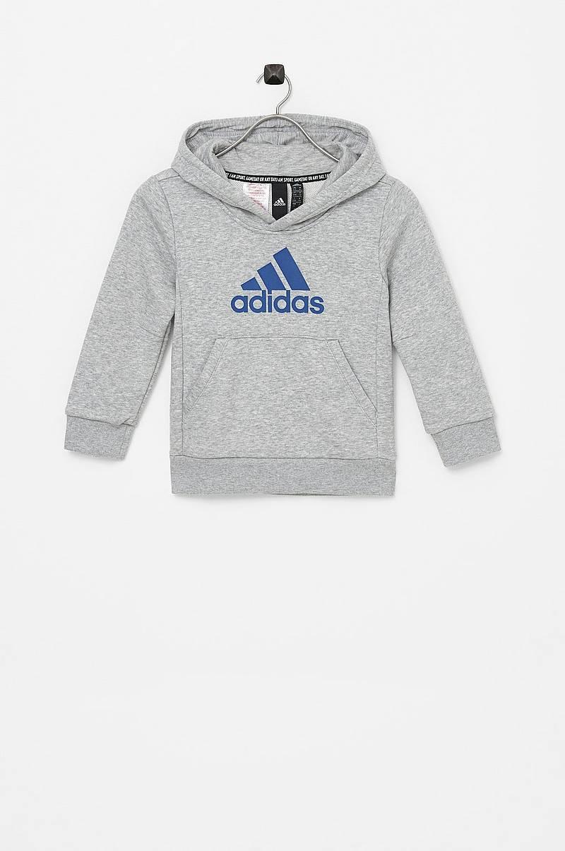 adidas Must Haves 3 Stripes hættetrøje Grå | adidas Denmark