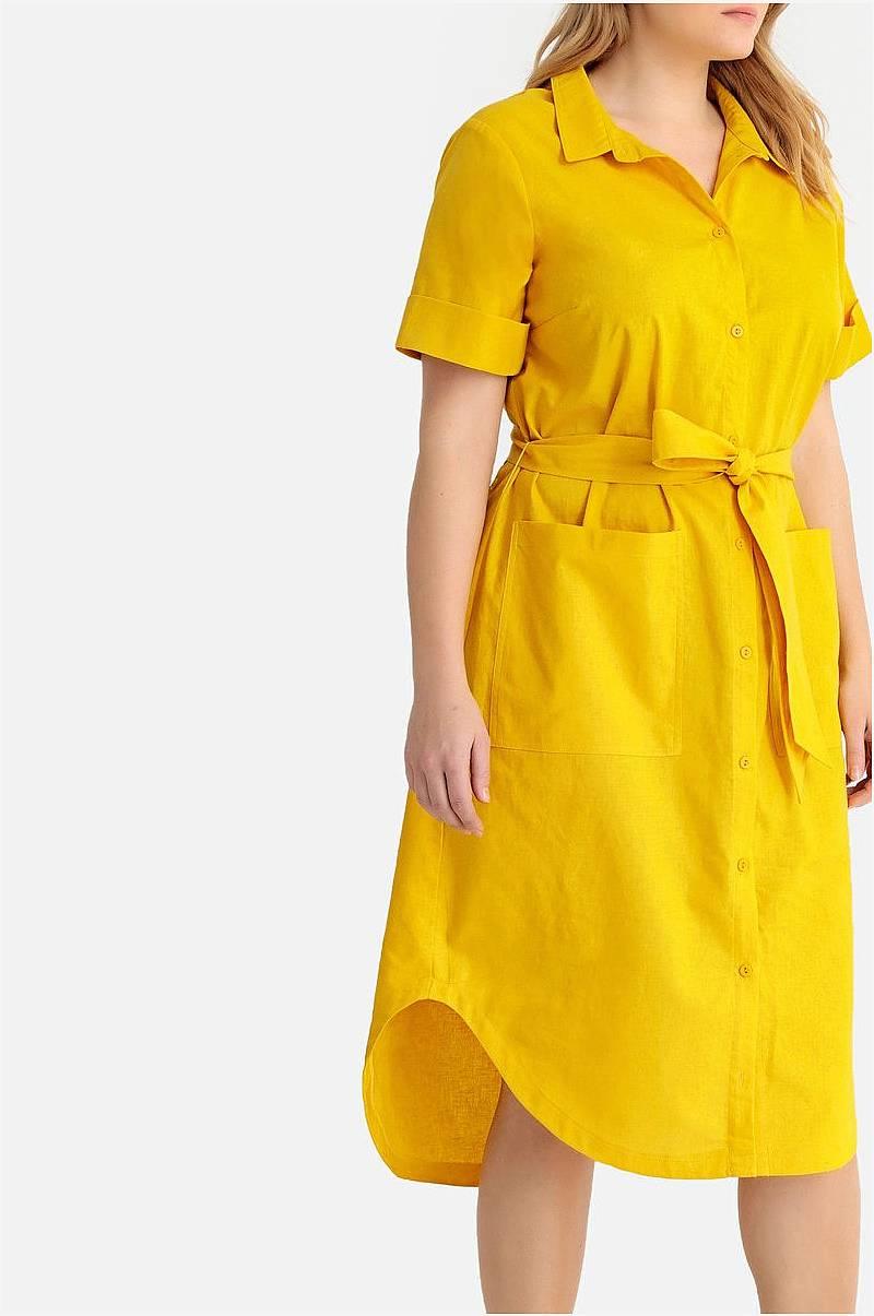 Skjortklänning i midilängd af4fd66bd12ba