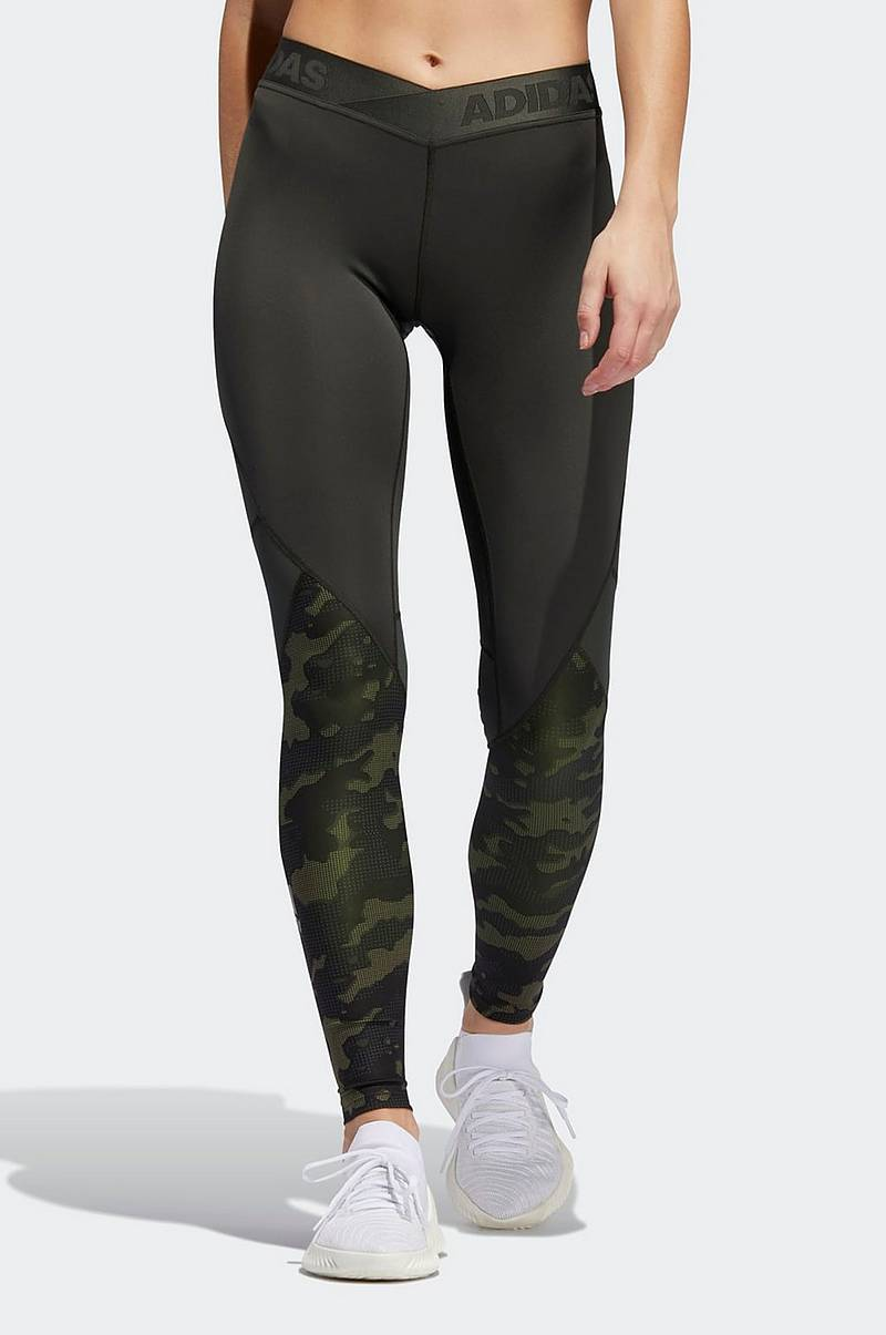 Träningstights Alphaskin Camouflage Tights