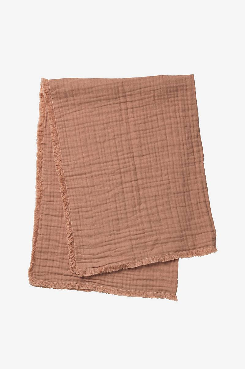 Soft Cotton blanket Faded Rose