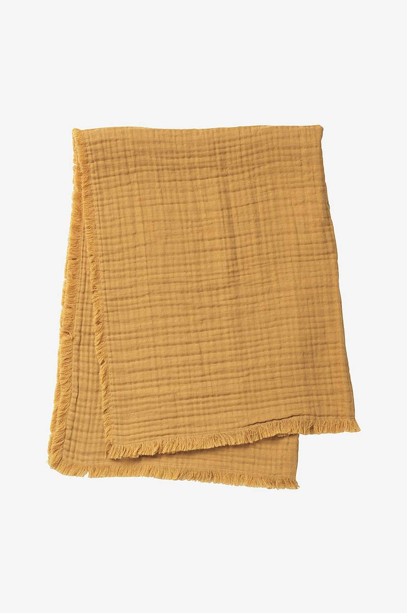 Soft Cotton blanket Gold