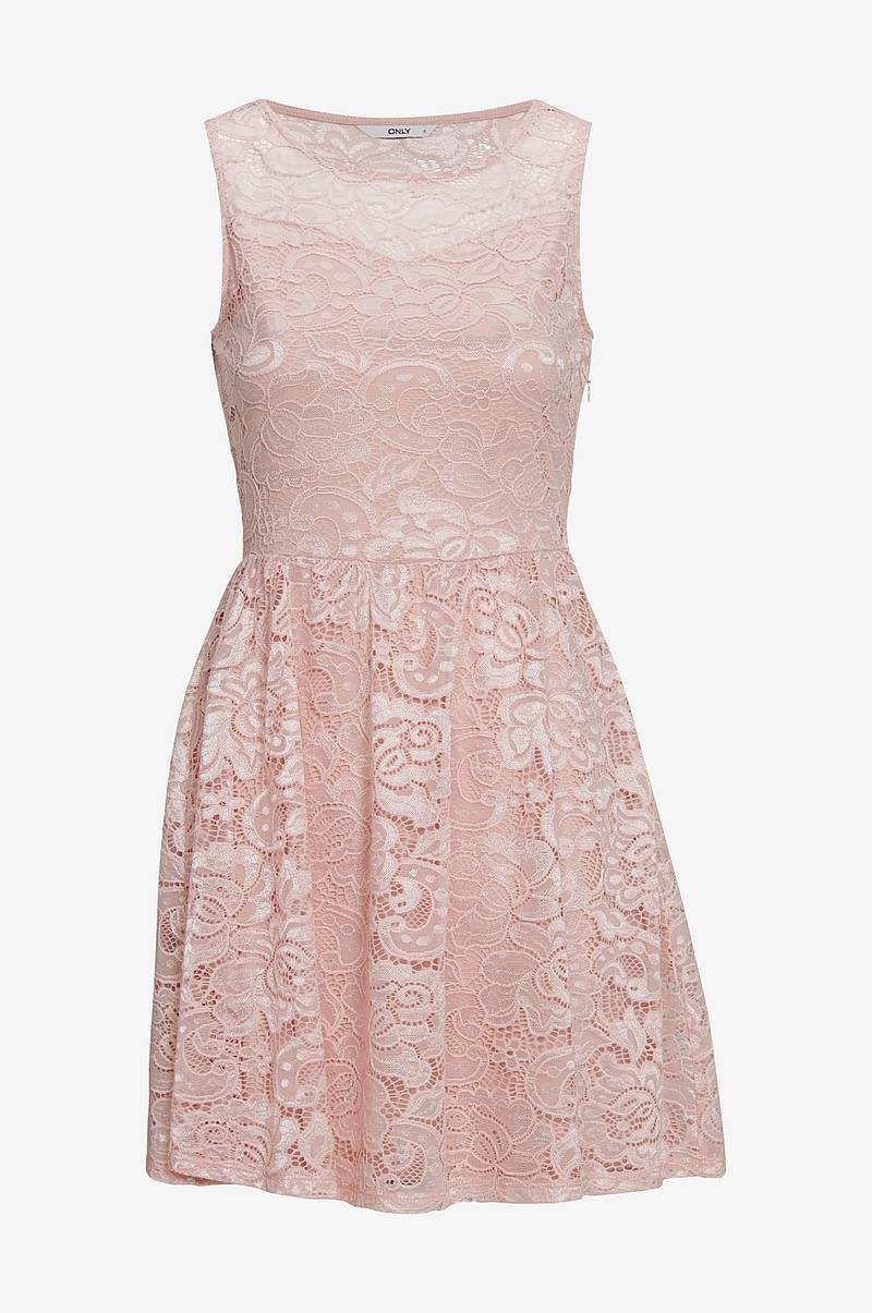 Blondekjole onlDicte Lace S/L Dress