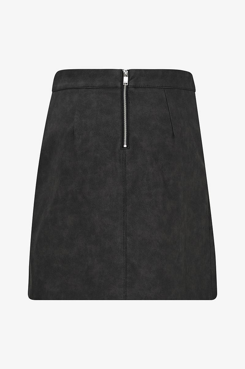 Kjol onyNima Faux Leather Skirt