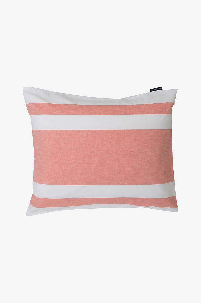 Pudebetræk Horizontal Striped Poplin Pillowcase