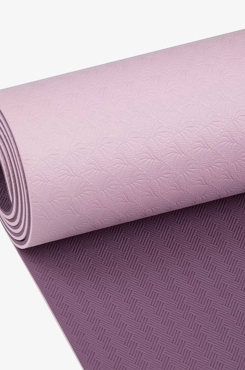 Yoga-matte 4 mm Violet/Purple