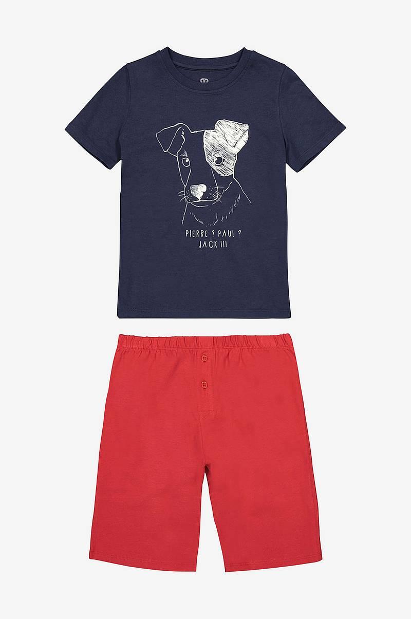 e90087d8 La Redoute Collections. Pyjamas med kort bukse og motiv