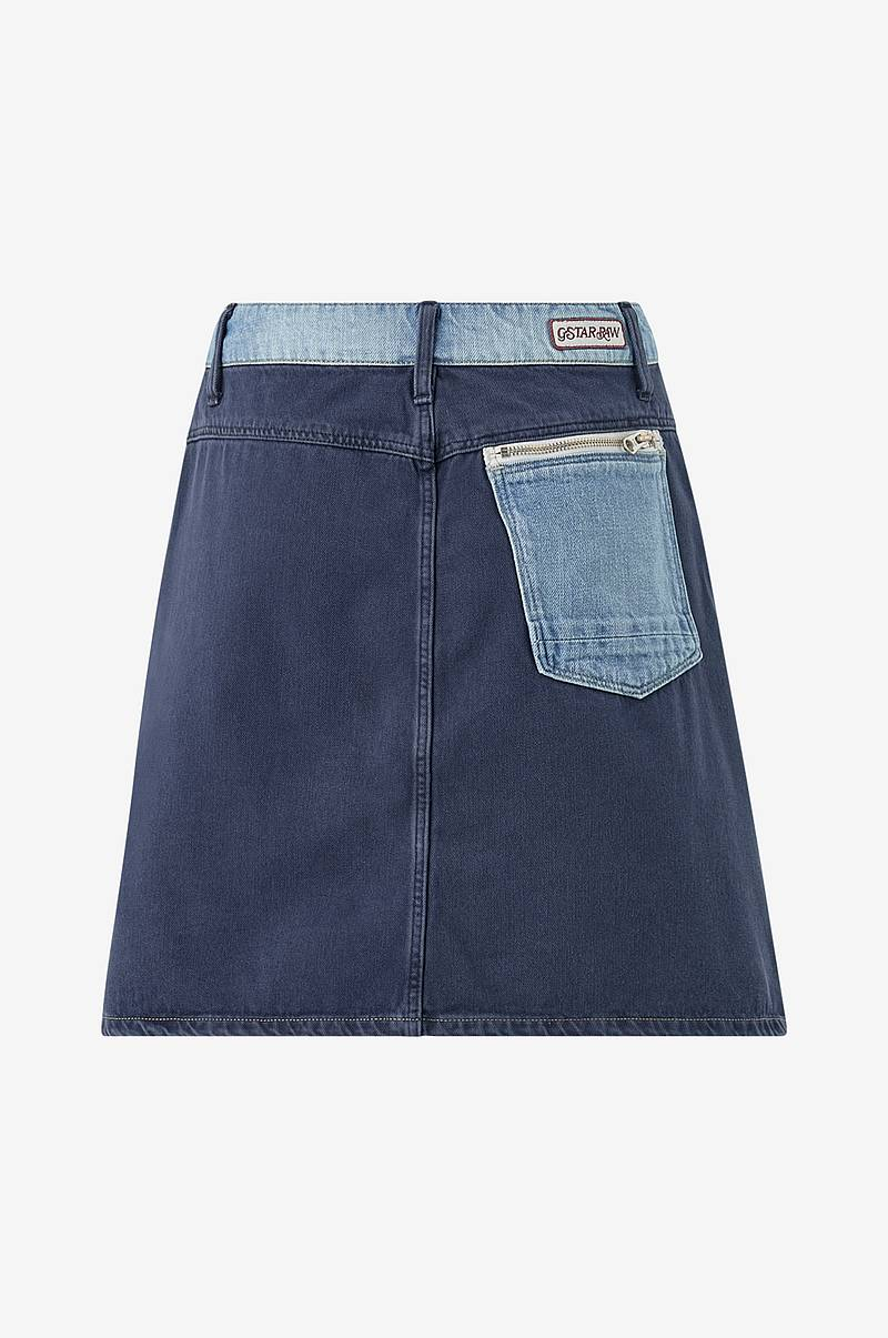 Denimnederdel Faeroes Zip Skirt