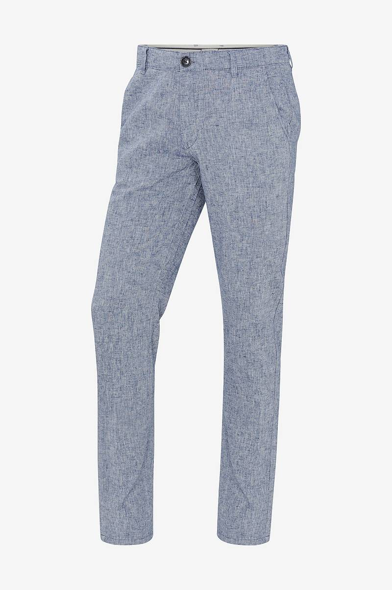 Housut slhStraight Paris Linen Pants