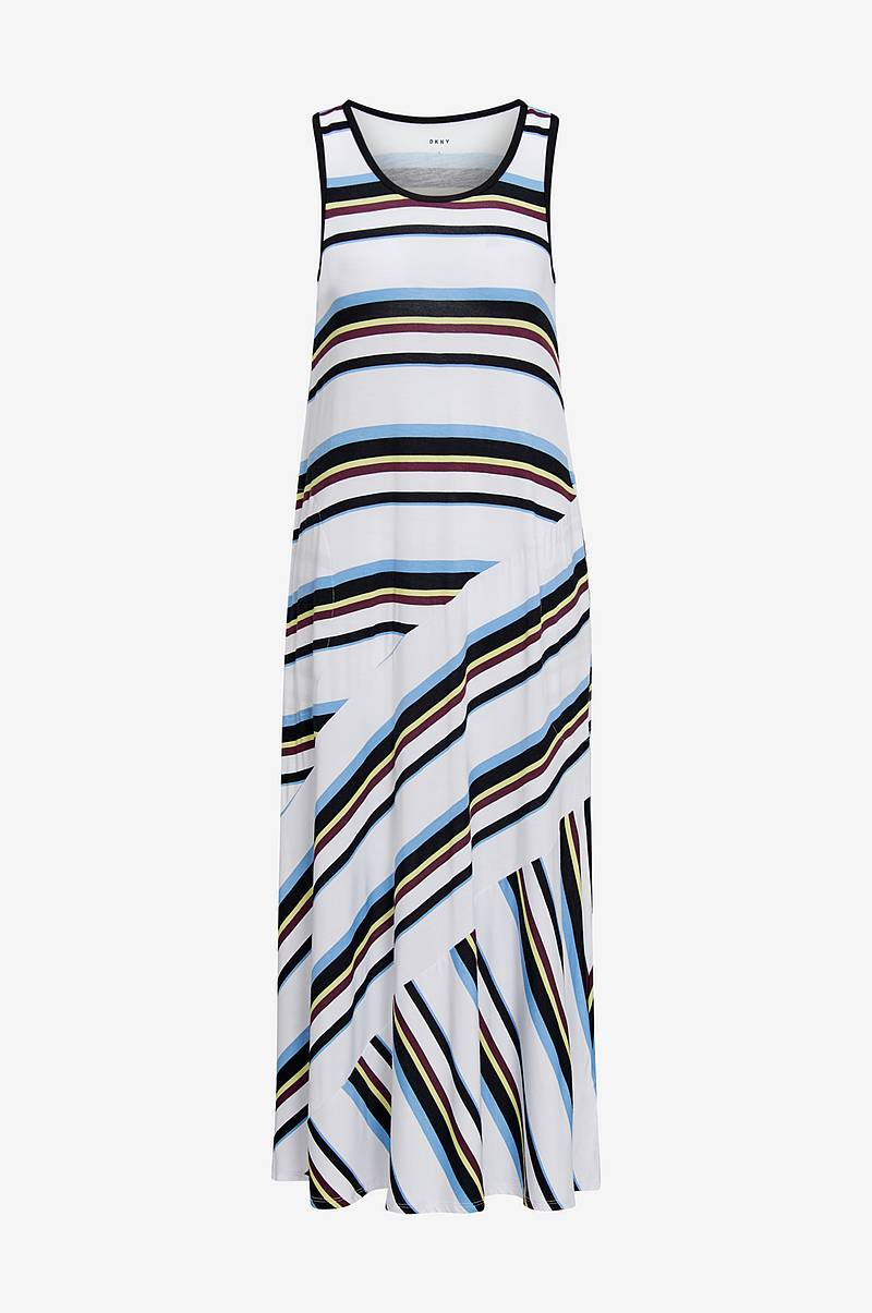 Kjole Earn Your Stripe Maxi Chemise