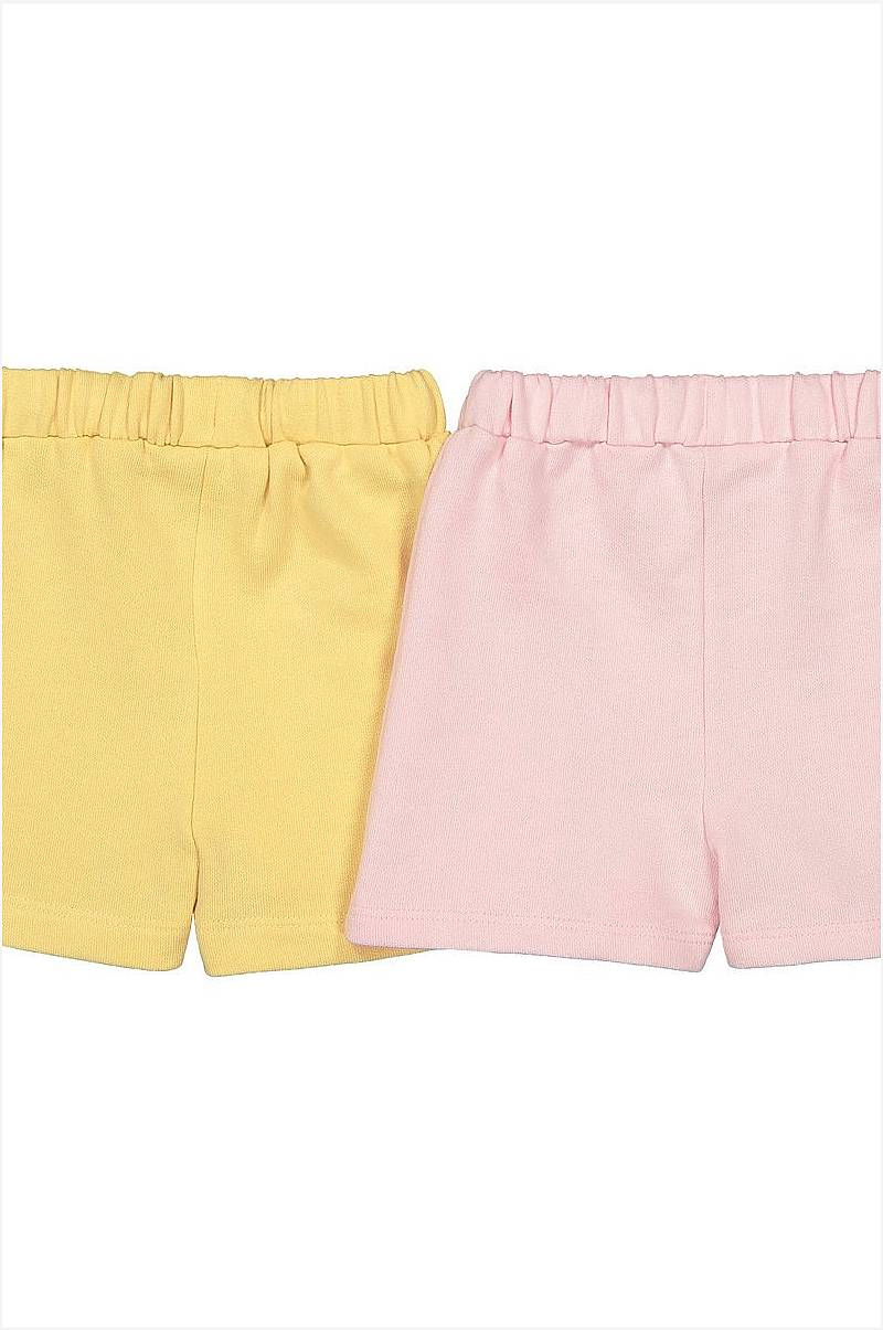 Shorts i sweatshirtmaterial, 2-pack