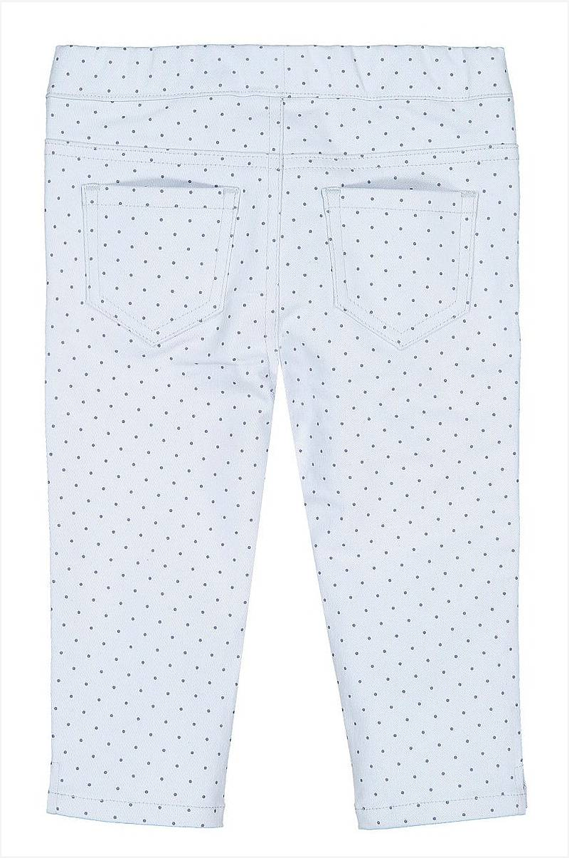 Prikkete jeansleggings