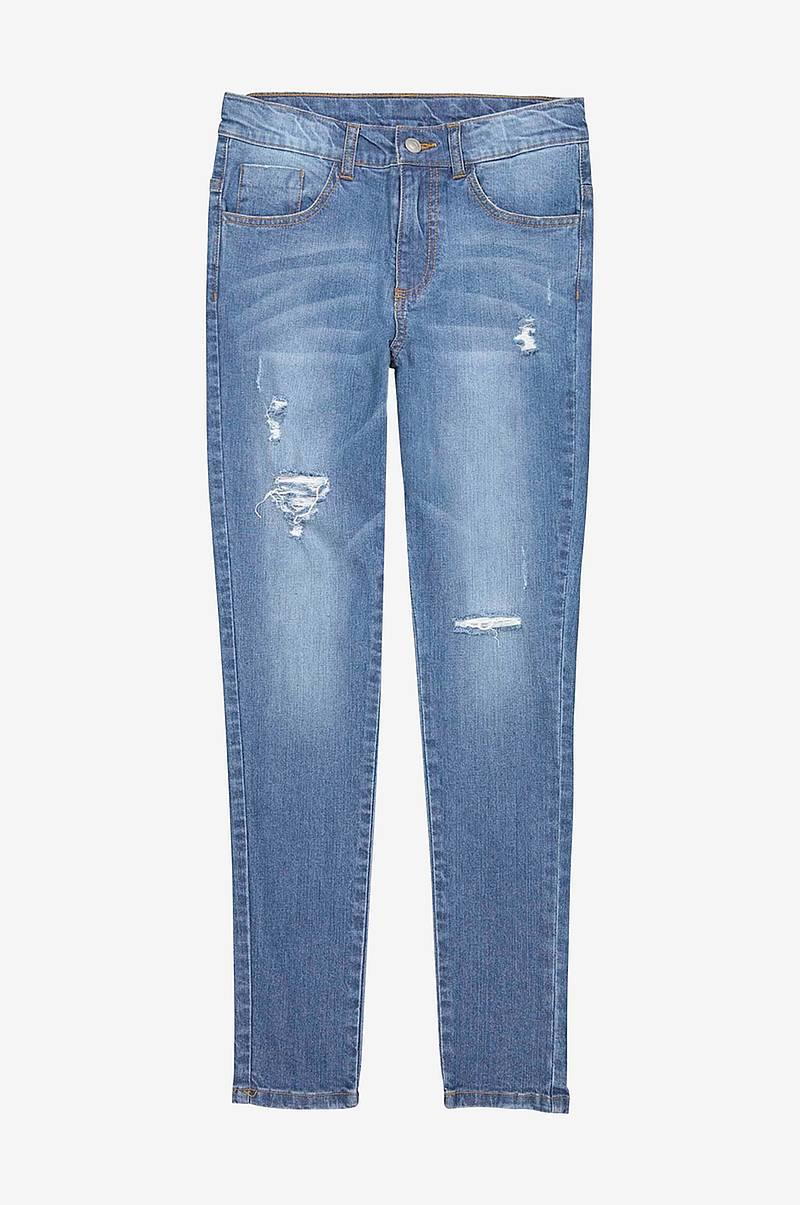 e17b3246cfc2 Skinny jeans med destroy-effekter
