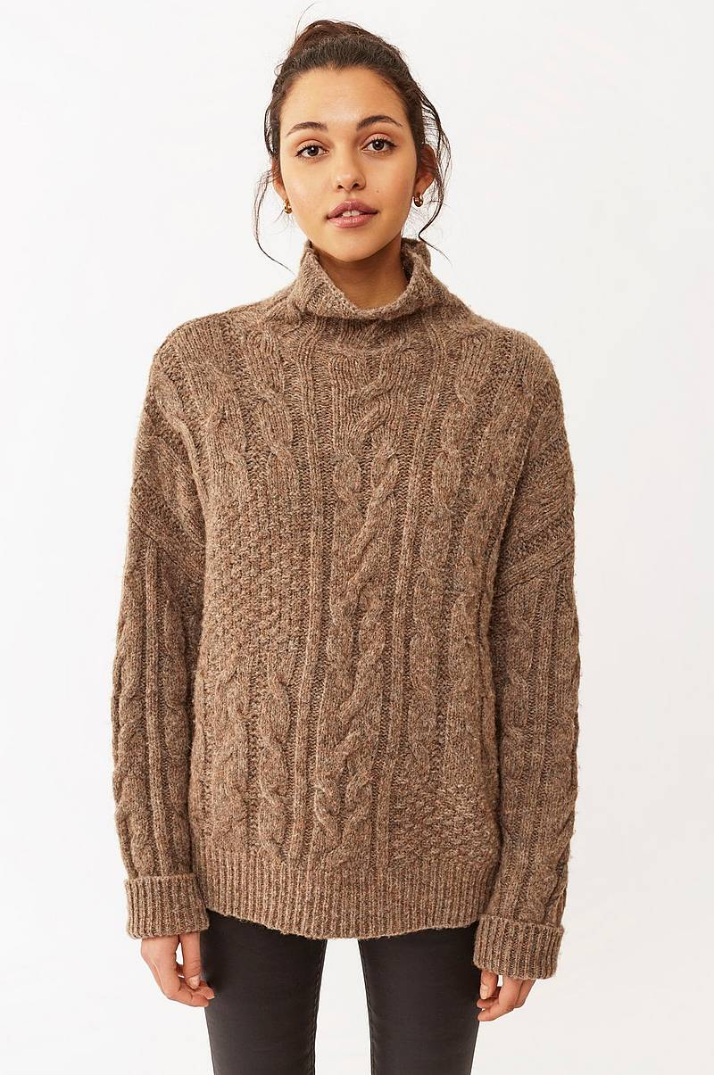 Tröja Marianna Cable Sweater