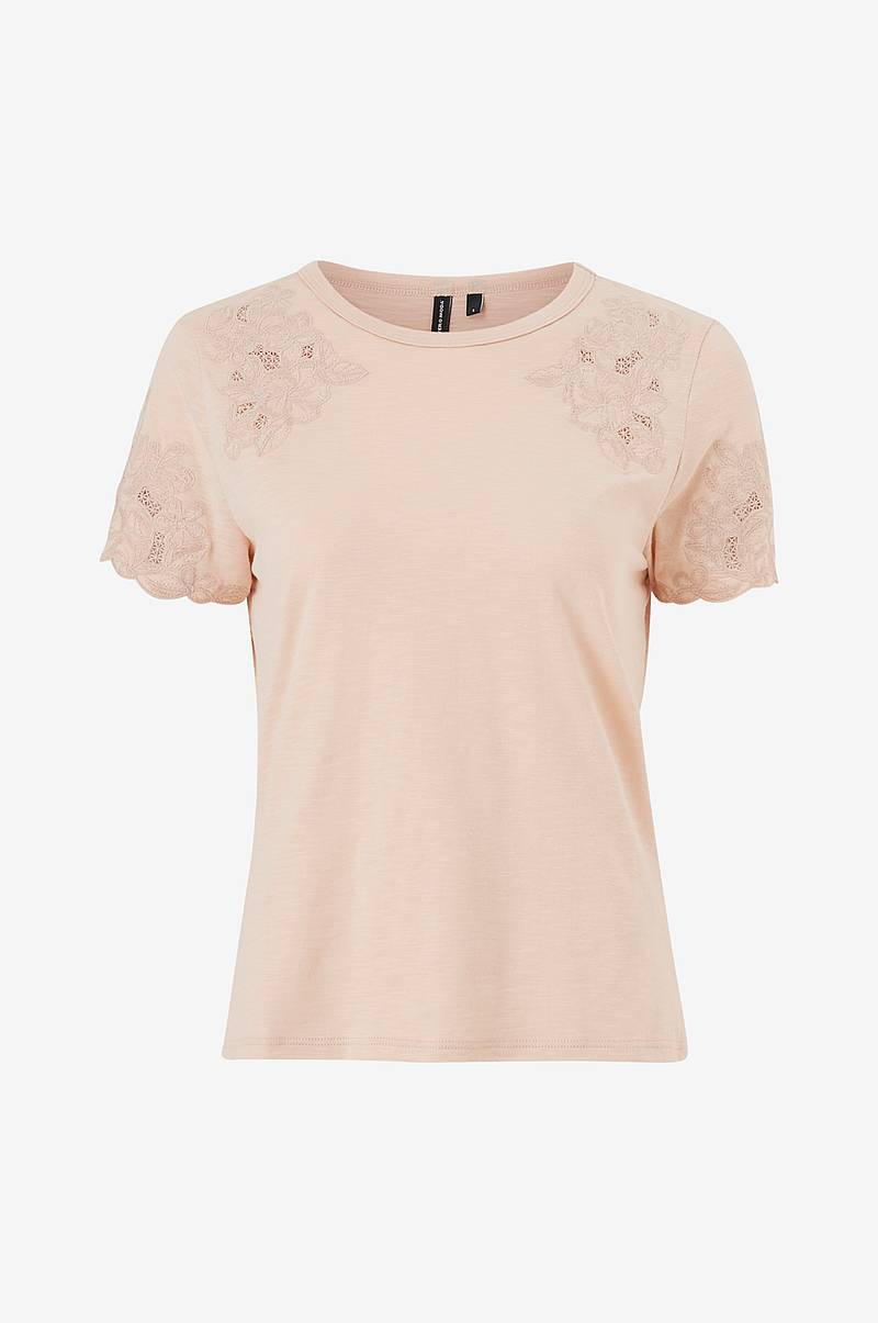 Pusero vmAmabel S/S Lace Top