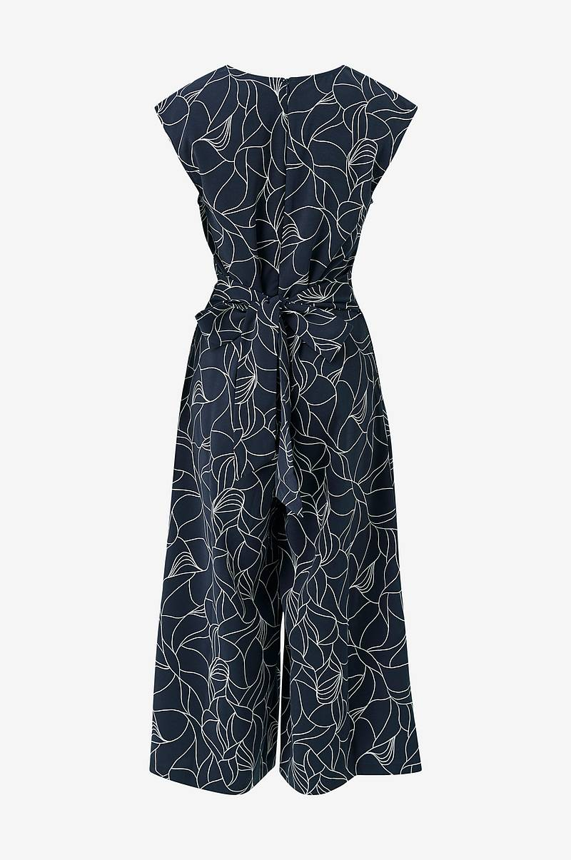 Jumpsuit viMelis Linta V-neck Cropped