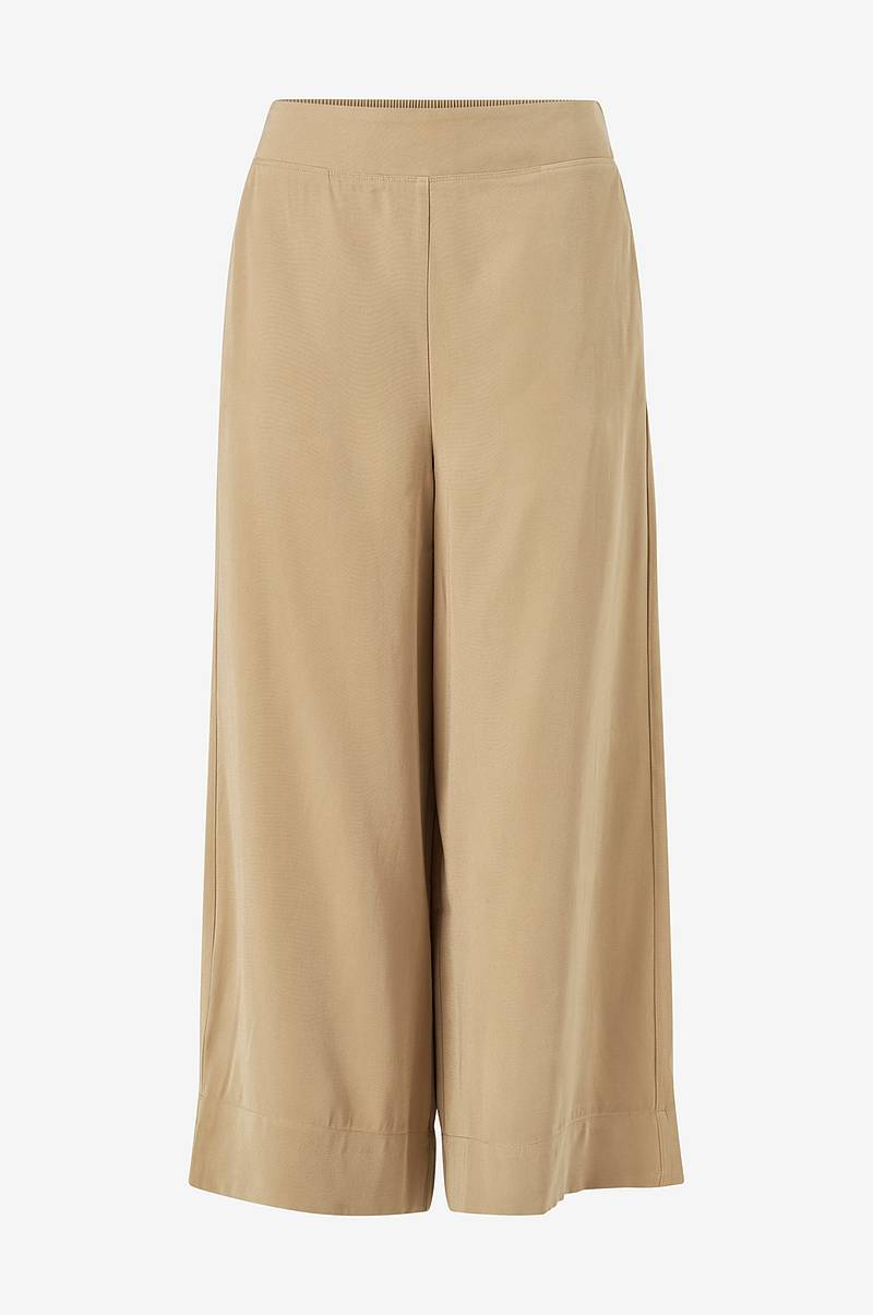 Byxor viEsther HW Wide Crop Pants