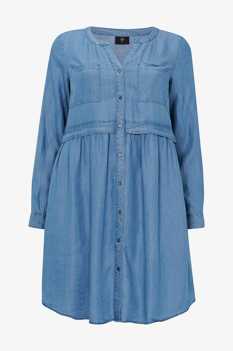 Denimkjole yOcell L/S Dress