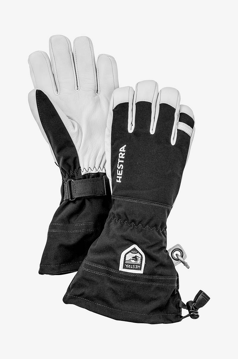 Skihansker Army Leather Heli Ski 5 finger