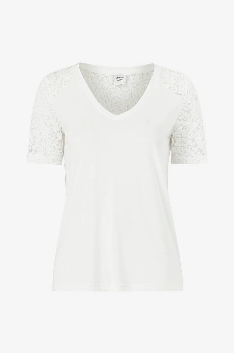 Topp jdyStinne S/S Lace Top