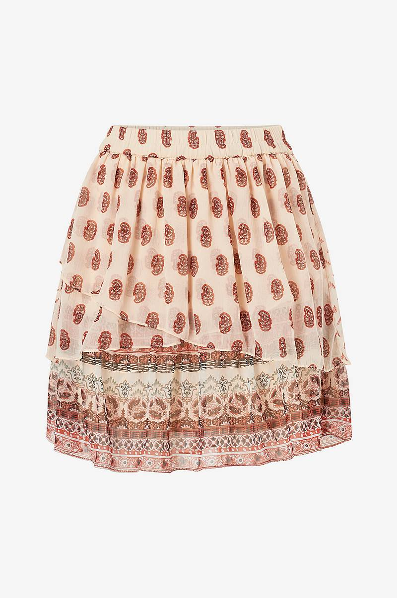 Volangkjol vmAddison H/W Layer Short Skirt
