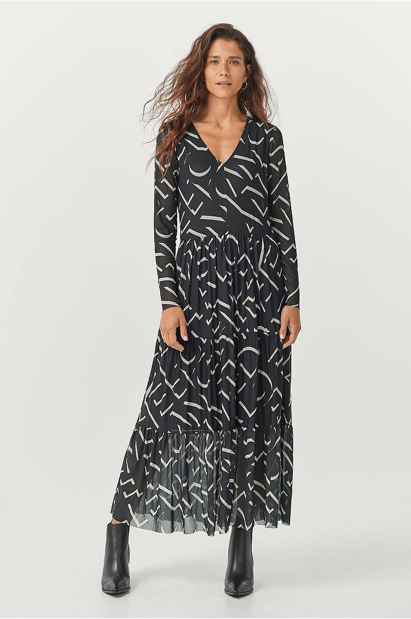 Maksimekko Letters Maxi Dress