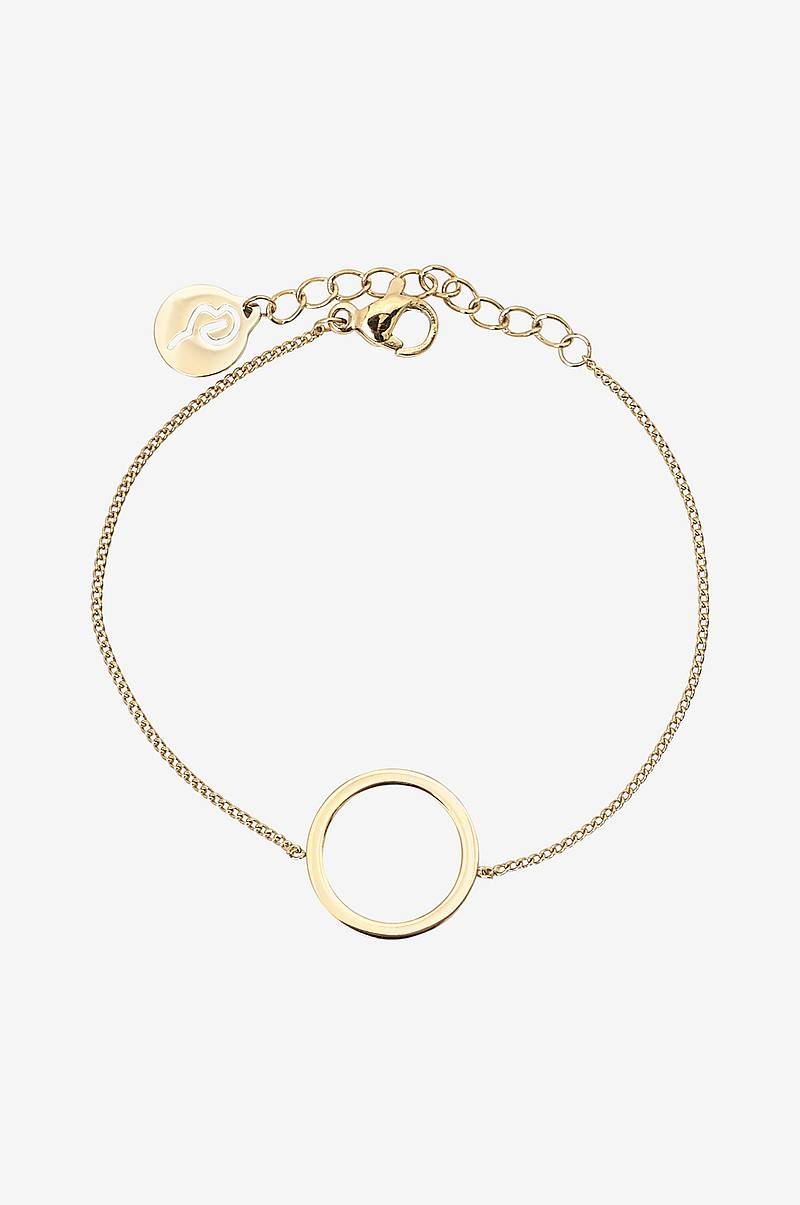 Armbånd Circle Bracelet Small Gold