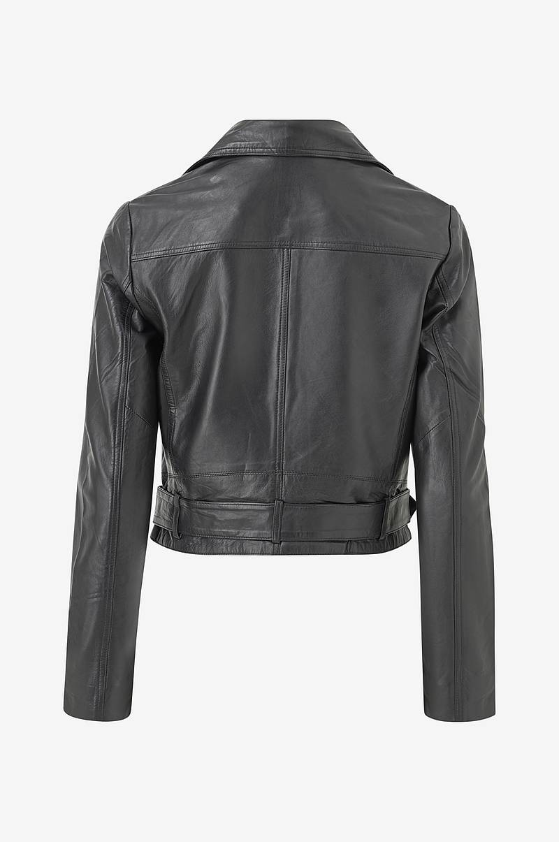 Skinnjakke viWillas Short Leather Jacket