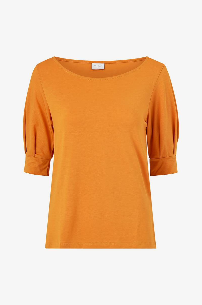 Top viPenni Boat Neck 2/4 Sleeve