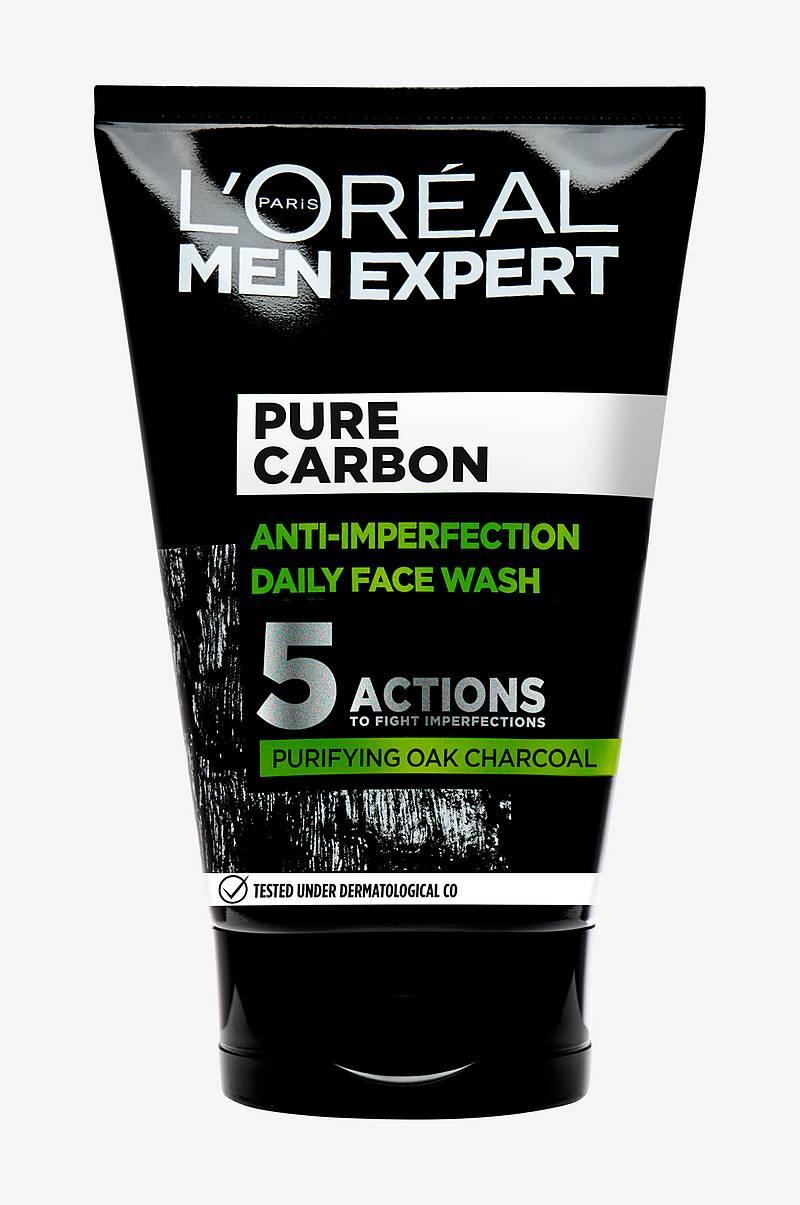 Men Expert Pure Charcoal Wash 100 ml