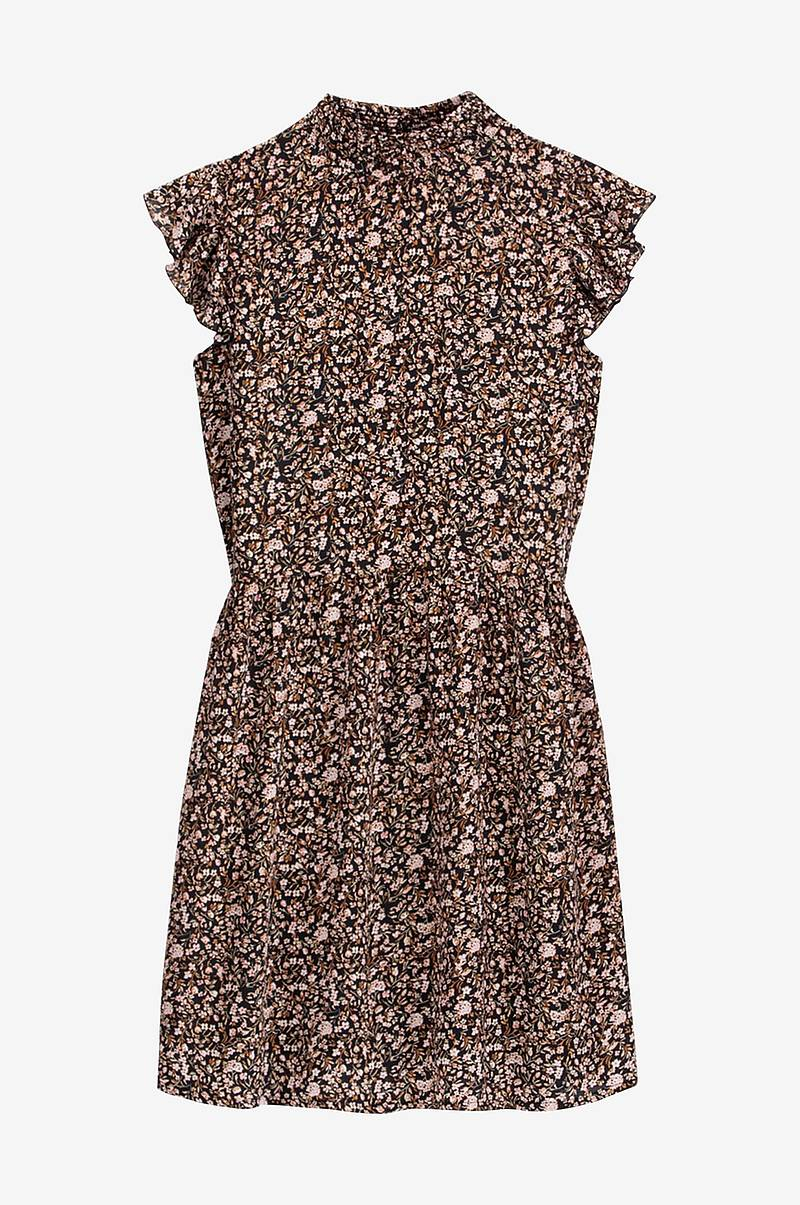 buy popular 86cf2 23a86 Blommig klänning med volangärm
