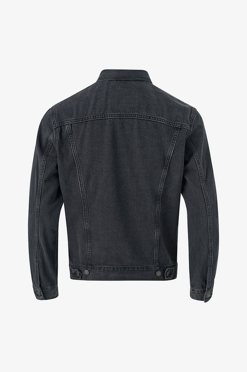Denimjakke The Trucker Jacket Liquorice