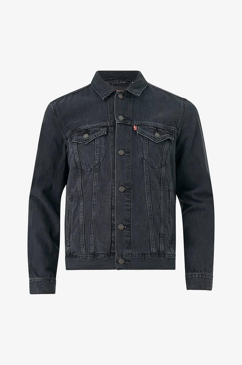 Jeansjakke The Trucker Jacket Liquorice